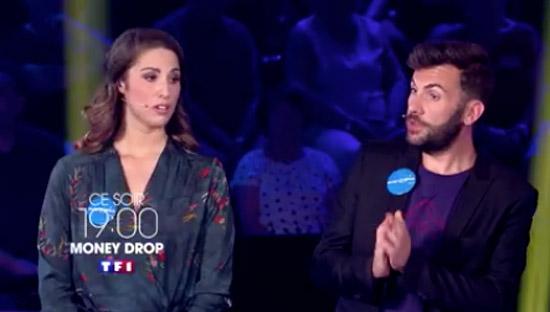 Laurent Ournac et Charlotte Namura font équipe pour #MoneyDrop