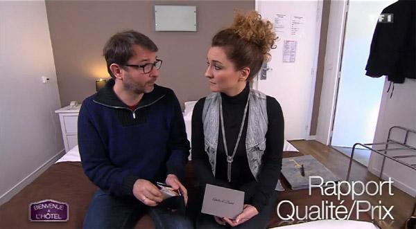 Vos avis sur l'hôtel d'Amélie et David dans Bienvenue à l'hôtel sur TF1