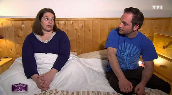 Vos avis sur l'hôtel de Violaine et Cédric dans Bienvenue à l'hôtel sur TF1