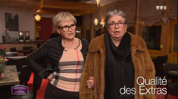 Les avis sur l'hôtel de Berengère et ELyettte dans Bienvenue à l'hôtel sur TF1