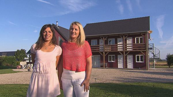 Avis sur la maison d'hôtes de Magalie et Angelique Haute Normandie de Bienvenue chez nous / Crédit photo TF1