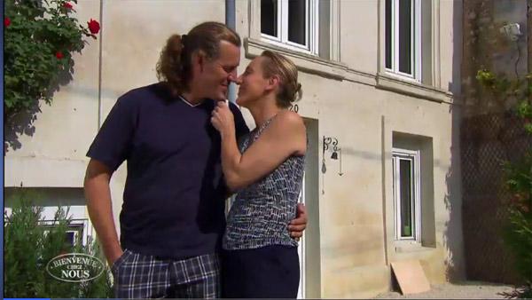 Carole et hugues dans bienvenue chez nous loir et cher for Chambre hote tf1