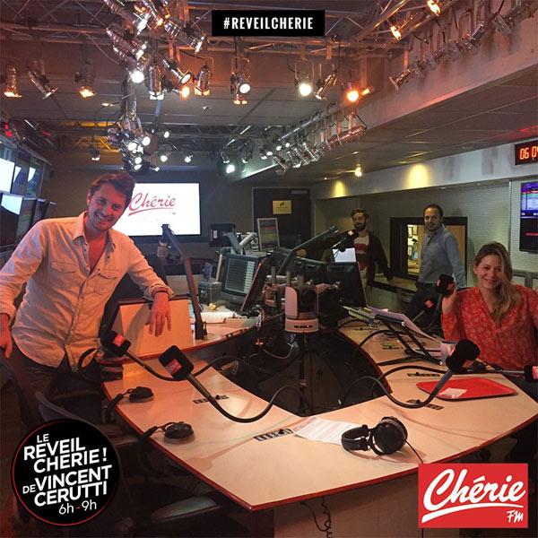 Vincent Cerutti à la matinale M Radio (rentrée 2020) : en