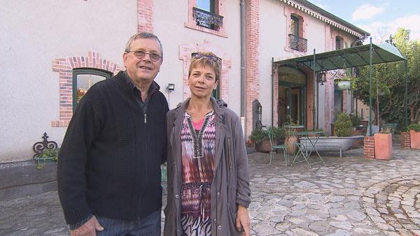 Sylviane et michel de bienvenue chez nous tf1 en puy de d me - Chambre d hote dans l oise bienvenue chez nous ...