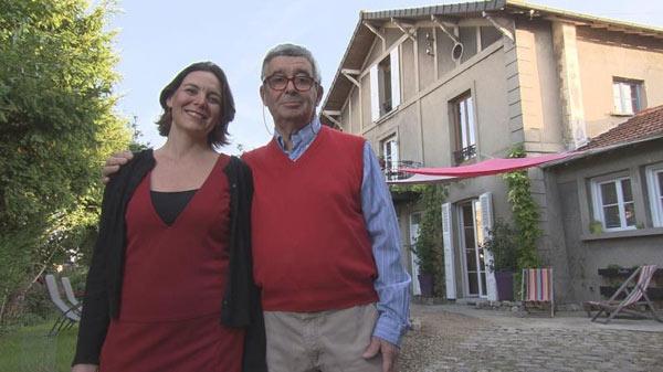 Elodie et ren ile de france dans bienvenue chez nous for Chambre hote tf1