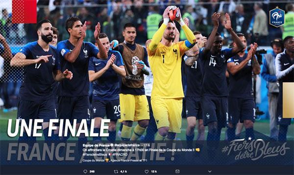 Audience france croatie tf1 le dimanche 15 juillet 2018 finale mondial 2018 - Audience finale coupe du monde ...