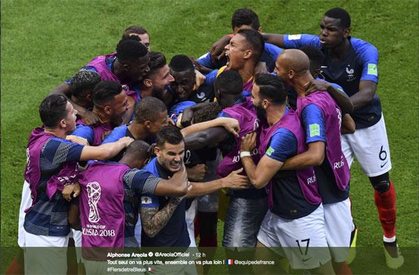 Avis et audience france uruguay tf1 le 6 juillet 2018 1 4 finale du mondial 2018 - Audience finale coupe du monde ...