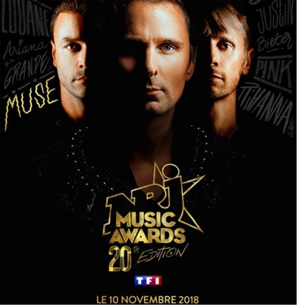 resultat nrj music awards 2018