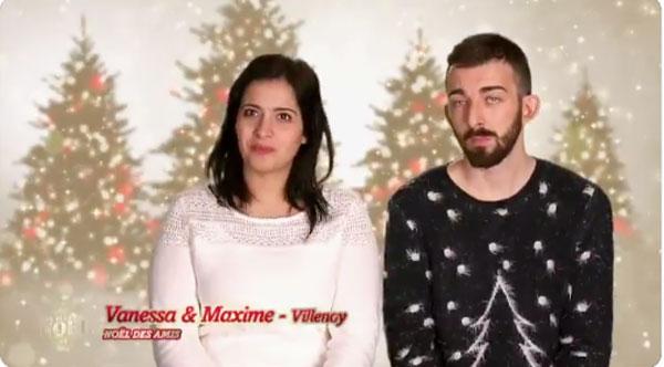 9afb60722011f Vanessa et Maxime (noël des amis) dans Mon plus beau noël sur TF1