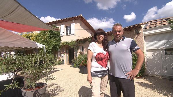 Marielle et Christophe de Bienvenue chez nous