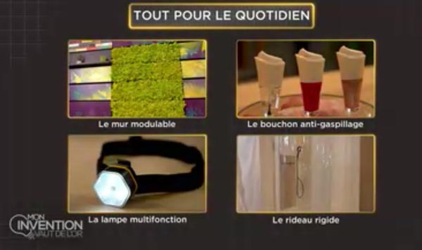 invention vaut de l'or