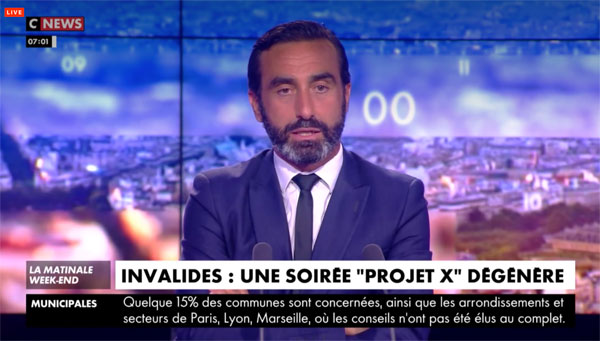 Olivier Benkemoun cnews