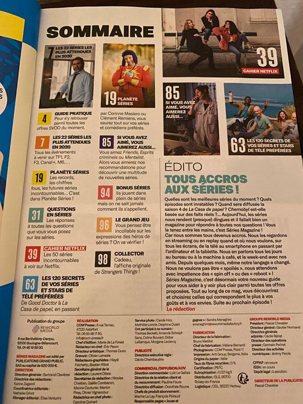 Series Magazine