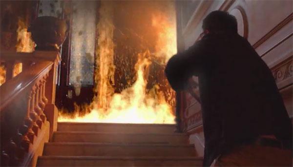 Alex face au feu
