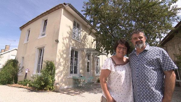 Julie et Stéphane de Bienvenue en famille