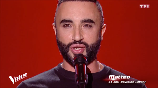 Mattéo the voice