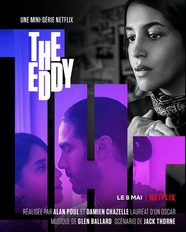 Poster promo the eddy Netflix