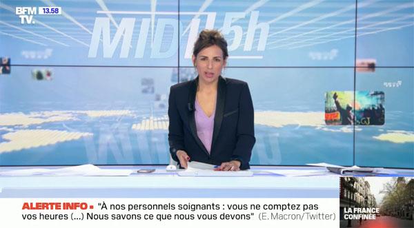 Alice Darfeuille sur BFMTV