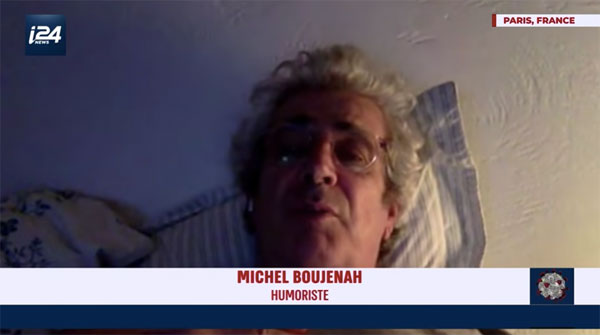Michel Boujenah et le covid-19
