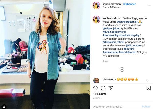 Sophie Brafman instagram