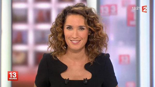 Marie Sophie Lacarrau absente des JT