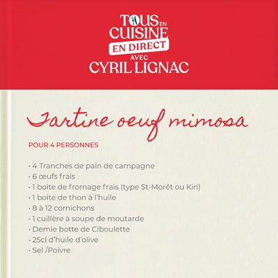 recette cyril lignac