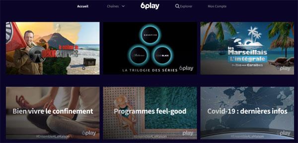 6play la plateforme video gratuite
