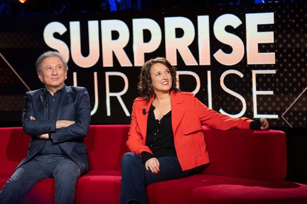 Anne Roumanoff et Michel Drucker sur France 2