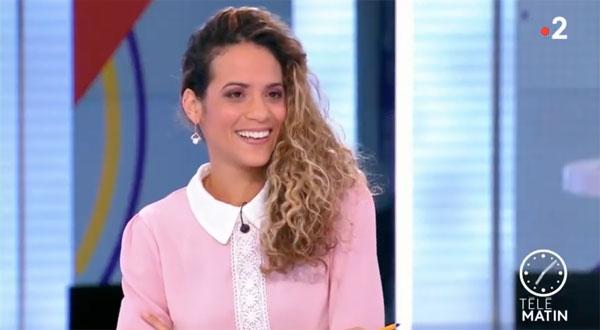 Andrea Decaudin  de Télématin