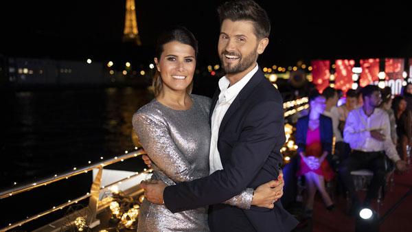 Christophe Beaugrand et Karine Ferri animateurs de TF1