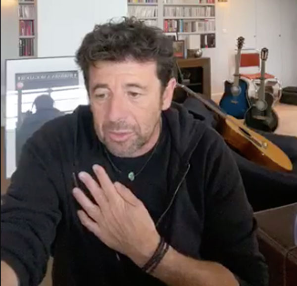 Patrick Bruel et covid-19
