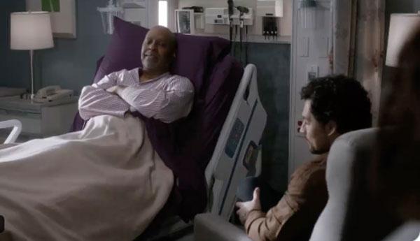 Deluca et Webber dans Grey's anatomy saison 16