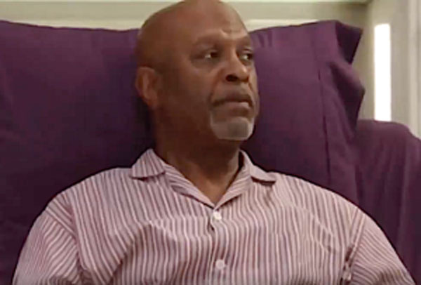 Richard Webber dément dans Grey's anatomy