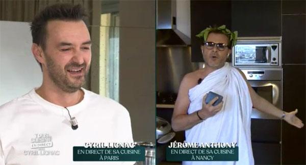 Cyril Lignac et Jérôme Anthony