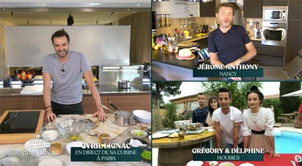 Cyril Lignac et Tous en cuisine sur M6