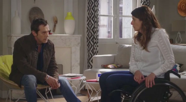 Luna et Andres amour impossible dans Plus belle la vie 14/04/2020
