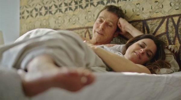 Andres et Luna dans Plus belle la vie de France 3