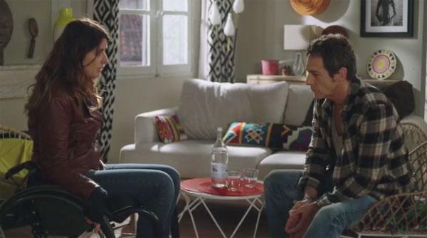 Andres et Luna le couple de Plus belle la vie