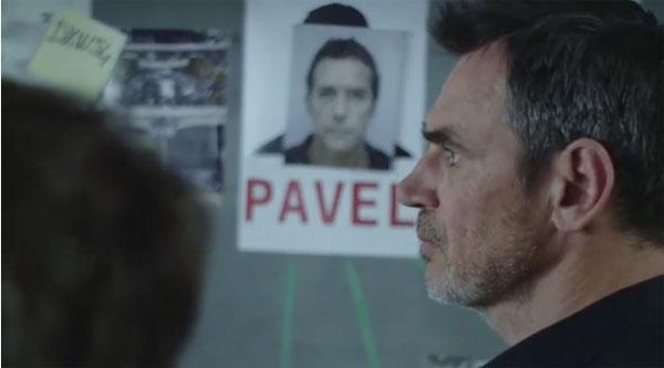 Jean Paul et Patrick la police de Plus belle la vie