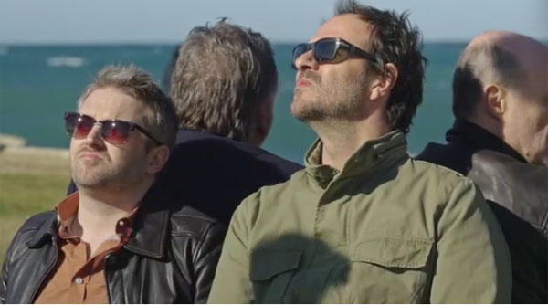 Nathan et Franck dans Plus belle la vie