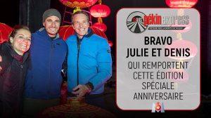 Pekin express avec Julie et Denis