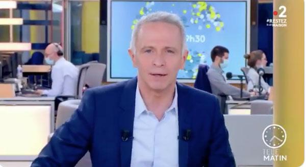 Samuel Etienne et le Télématin de France info