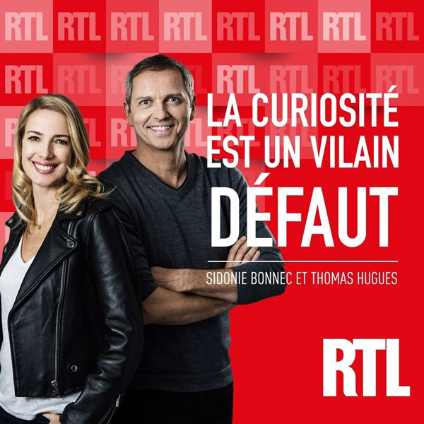 RTL Sidonie Bonnec et Thomas Hugues