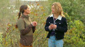 Ingrid et Lou dans Les mystères de l