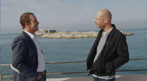 Vincent Chaumette et Guillaume de Plus belle la vie