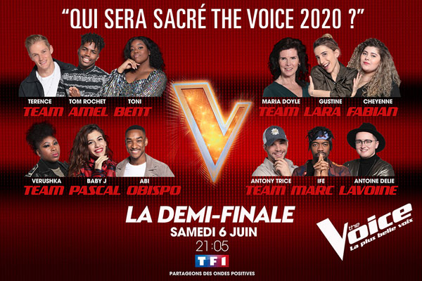 The voice la demi-finale