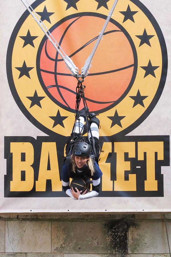 Turbo basket fort boyard