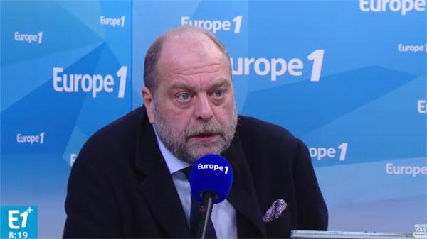 Eric Dupond Moretti Europe 1