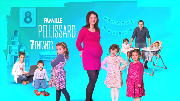 Famille Pelissard de TF1