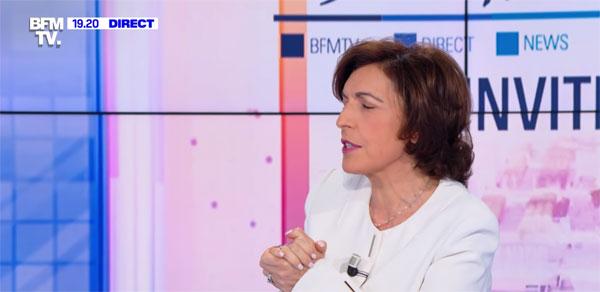 Ruth Elkrief sur BFMTV